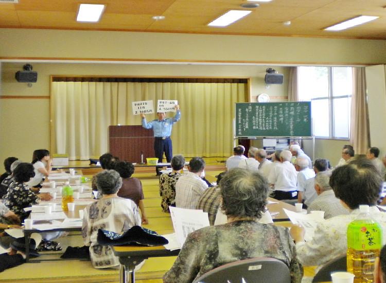 横根寿会盆会の写真
